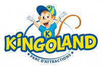logo kingoland parc d'attractions plumelin horizontal